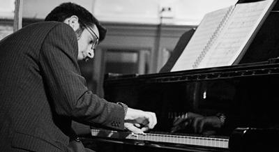 Pianista profesor jazz